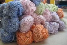 BCB yarn in action / The yarn I make, made into something new! Email me if you've made something with my yarn!