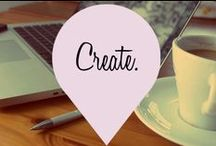 Create. / Cool ideas for things to create, do, wear, plan....