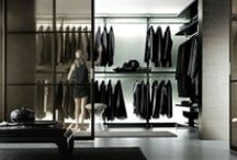 Clothing closets / How to show and store your clothes. Walk-in closets.