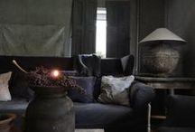 h o m e * c o z y * h o m e  / stoer, landelijk, chique interieurs / rustic country chic interiors  / by Myra Madeleine
