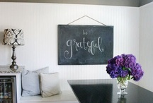chalk it up / by Judy Ausink
