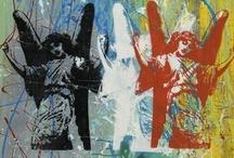 Daniel Tacker Pop Art 2006 / Handmade art pieces made by Daniel Tacker.  Memphis area- artist.  Mixed media abstract art is on canvas or wood.  / by Daniel Tacker Originals