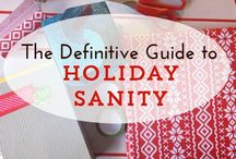 Sane Holiday / Craft a sane, stress-free holiday in your small business with these tips + articles.