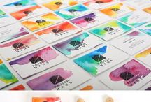 Business card inspiration / Need a business card for your creative business? Check these out!