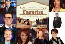 2014 EL PASO's FAVORITE WEATHERCASTER SURVEY / Show your support by voting for your favorite El Paso Weathercaster below.  You can vote once per day, and voting ends at 11:59pm on 8/20, so get voting!