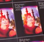 Brighton Festival 2011 branding and design / In 2011, Aung San Suu Kyi was invited to be Guest Director of Brighton Festival. We wanted to create an image that suggested her spiritual presence in Brighton for the Festival. Inspired by the ethereal quality of analogue photography and cinema, we created a double-exposure treatment of the Aung San Suu Kyi portrait against one of our own photographs of the fittingly Asian-influenced Royal Pavilion in Brighton. The final image aims to create an uplifting message of celebration and liberty.