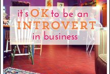 Business for introverts / Think you're too introverted to run an etsy shop, do craft shows, trade shows or have a creative business? NOPE!