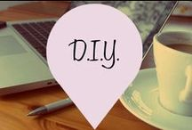 D.I.Y. [Misses Mac Blog.] / I love to create things for my home. Often I end up spending way more time, effort and money on something when I could have just bought it. But where is the fun in that? There's nothing more satisfying than creating something from scratch. www.missesmac.com/category/diy/