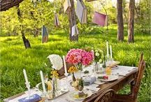 Dining Alfresco / by Michelle