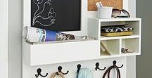 Get Organized / Smart organization is within reach! Organize your home with these clever ideas.