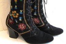 ✔SHOES AND GRANNY OXFORDS & BOOTS / Walk a mile in my moccasins / by S♥lly✿♥‿♥✿♎★☮✌♥