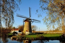 ✔WINDMILL♥♥♥♥ / I have an affinity 4 windmills must be in my DNA memorie? A tribute to my ancestral Van de Veer family line. / by S♥lly✿♥‿♥✿♎★☮✌♥