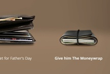 The Moneywrap / The Moneywrap is the smart way to carry your cash and cards. Simply fold in your assets and snap it safely together with the strap. Check it out at www.TheMoneywrap.com