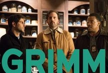Grimm / For more GRIMM, click the series logo on the bottom left of the double line to follow their official profile! http://pinterest.com/nbcgrimm/ / by NBC