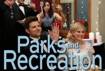 Parks & Recreation / For more PARKS AND RECREATION, click the series logo on the bottom left of the double line to follow their official profile! http://pinterest.com/nbcparksandrec/ / by NBC