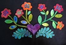 Stitching: Flowers / by Eddi Miglavs