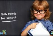 Back to School / Discover some helpful resources and ideas to prepare your child for back to school.  / by Reading Eggs