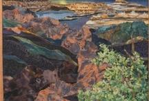 Quilts: #2 Landscape & Art Quilts  / by Eddi Miglavs