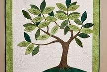 Stitching: Trees, Leaves, Acorns / by Eddi Miglavs