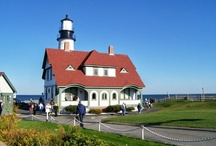 Lighthouses in New England / New England lighthouses that shine!