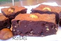 Brownie de Castañas Asadas