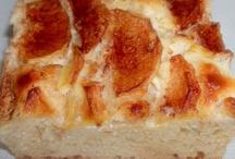 Pan con Manzana y Queso Crema