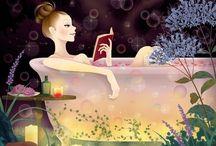 Rub a Dub, I Love Reading in the Tub / Reading in the bathtub, / by Allyson Pearl