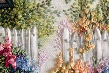 Embroidery: Ribbon Embroidery / by Eddi Miglavs