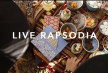 LIVE RAPSODIA / Art, office, colors, backstage...