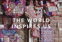 THE WORLD INSPIRES US