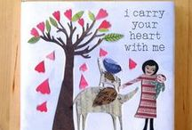 I Carry Your Heart With Me / 'I Carry Your Heart With Me,' the poem by E.E. Cummings, accompanied by beautiful artwork created by Mati McDonough.