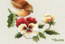 Embroidery: Needle Painting / by Eddi Miglavs