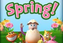 Spring has Sprung / Spring into some fun craft and activities with your family!  / by Reading Eggs