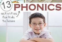 Phonics / Phonics is a fundamental part of learning to read. It is the relationship between sounds (phonemes) and their spellings (graphemes). Here are some fun phonics games and activities to give your early learner a head start.  / by Reading Eggs