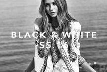 BLACK & WHITE SS16 / Backstage. Summer 16. Black & White.
