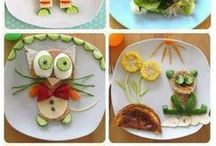 Food crafts for kids / Try some of these fun food crafts and ideas to inspire your kids to eat healthy.  / by Reading Eggs