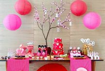 Kids {Japanese tea} parties / Inspiration for Japanese tea parties - kids parties, girls parties.