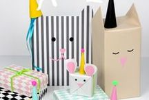 {Party boxes} / Gift wrapping ideas