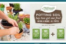 McDonald Garden Center, 2016 / Want to keep up with all latest & greatest from your favorite local garden center? Sign up for our emails for weekly coupons, upcoming events and other special offers.