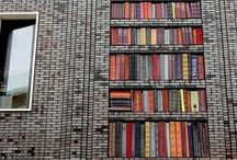 Books + Street Art. / Cameron+Company