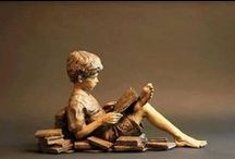 Still Reading / Poets, Writers, Readers and Character Statues from around the world.