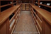 Stand on Me / Originally we started just pinning images of flooring that would complement wine cellars... but there are just so many interesting ideas out there!