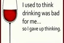 Wine and Wit / For those times we run out of words.  Wine to the rescue!
