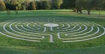 Labyrinthine / Indoor and outdoor labyrinths, hedge mazes, labyrinth art.