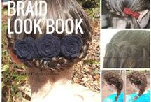 Pretty Hairstyles / Schooled Up Hair Accessories' collection of beautiful hair tutorials for long or short hair, up styles or down, braids or curls. / by Schooled Up Hair Accessories