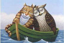 Owls and Pussycats / Went to sea in a beautiful pea-green boat.
