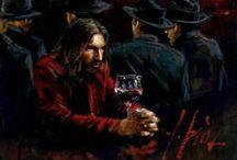 Wine in Art