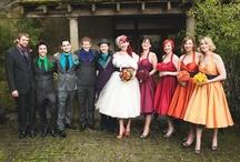 A Radiant Rainbow Wedding