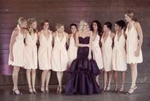 A Pretty Purple Wedding