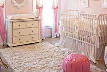 Baby Girls Nursery Ideas/Projects / DIY Projects/Ideas for a baby girl's nursery